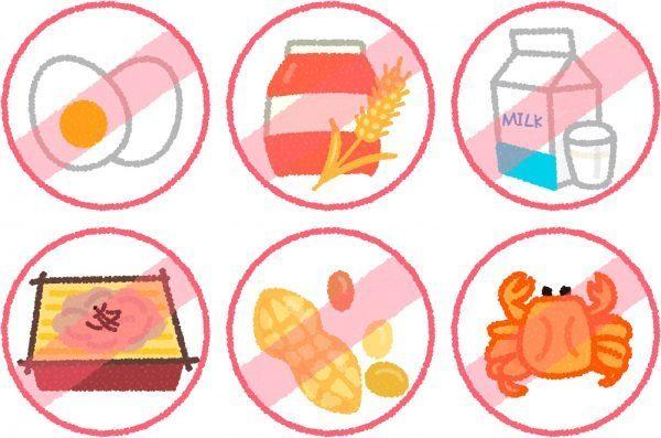 会社で食物アレルギーがある人の非常食について