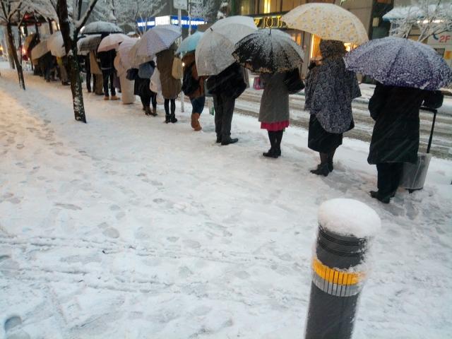 都会での大雪(雪災)の事前対策と注意点